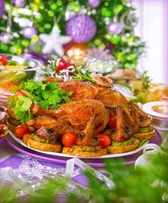 Rezepte für ein schnelles Essen mit geröstetem Huhn